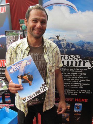 Photographer and Nova test pilot Mario Eder
