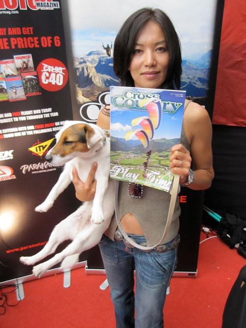 Seiko Fukuoka Naville, a Paragliding World Cup star