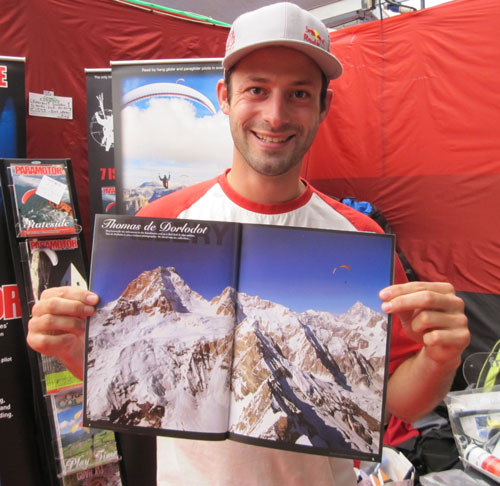 Tom de Dorlodot explains exactly how he took this shot of Ramon Morillas next to Masherbrum, in the current issue of XCmag