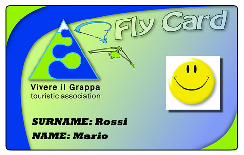 Monte Grappa's Fly Card