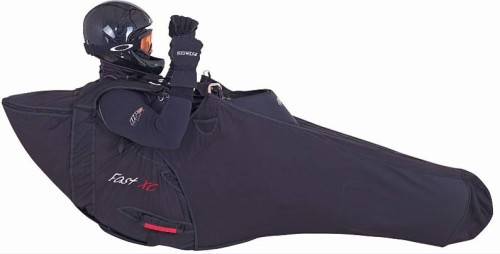 UP Fast XC, a paraglider pod harness for cross country pilots