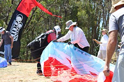 Take off at the Corryong Open 2012