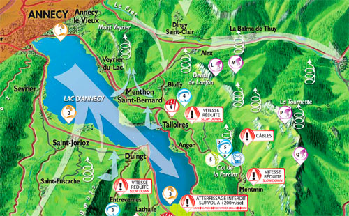 Paragliding and hang gliding guide to Annecy Free download Cross