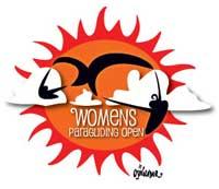 Women's Paragliding Open sun logo