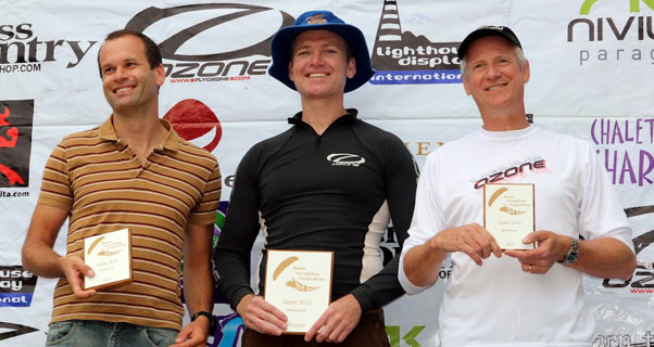 1, 2, 3 winners at the British Paragliding Championships in Italy