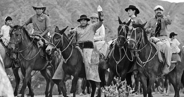 Gauchos in Argentina. Photo: Felix Wolk