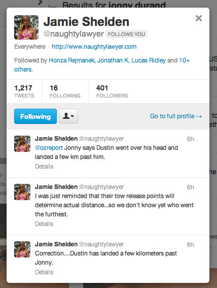 Jamie Shelden Tweets from Texas