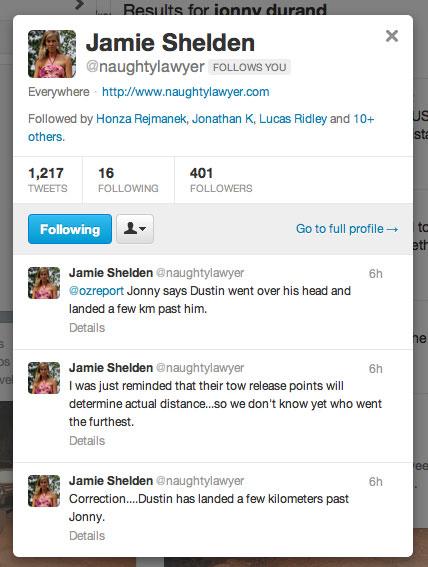 Jamie Shelden Tweets from Texas