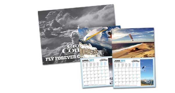 The Cross Country Fly Forever calendar 2013