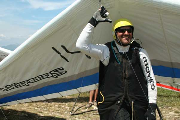 Attila Bertok learnt to fly in 1981 and is a strong contender