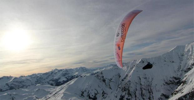 Chrigel Maurer on his new Enzo training in Switzerland. Photo: Chrigel Maurer