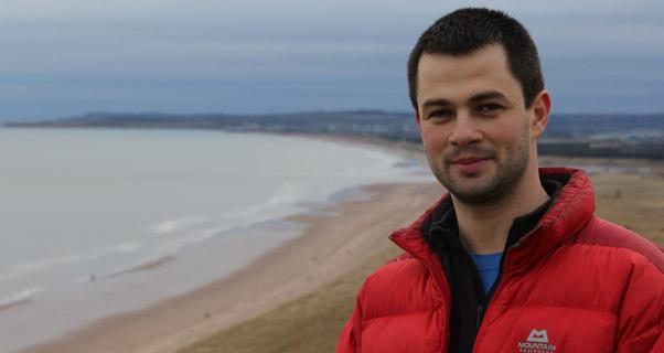 Daniel Gravier, at home in Aberdeen. Photo: Daniel Gravier