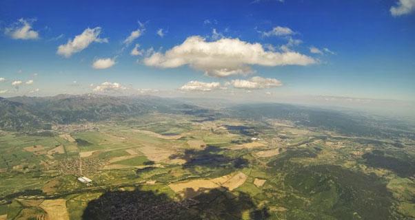 Perfect sky in Bulgaria