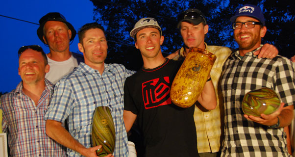 Trophy night at Rat Race 2013. Photo: Andy Pag