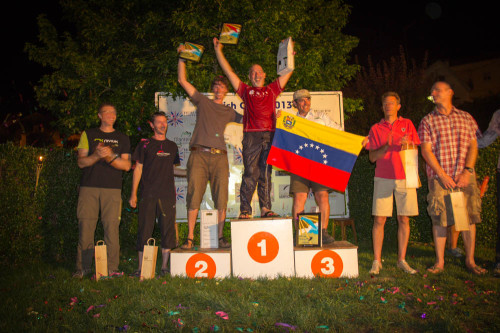 The overall winners. Photo: Marcus King
