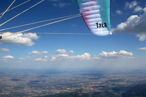 British Paragliding Open 2013 Manteigas, Portugal. First day.