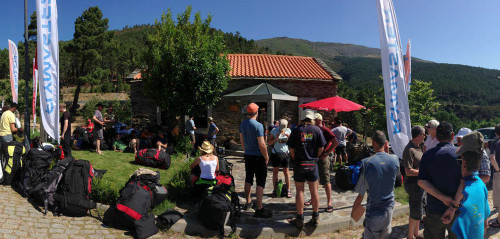 Pilots gather from far and wide in Manteigas, Portugal, for the first eg of the 2013 British Paragliding Open