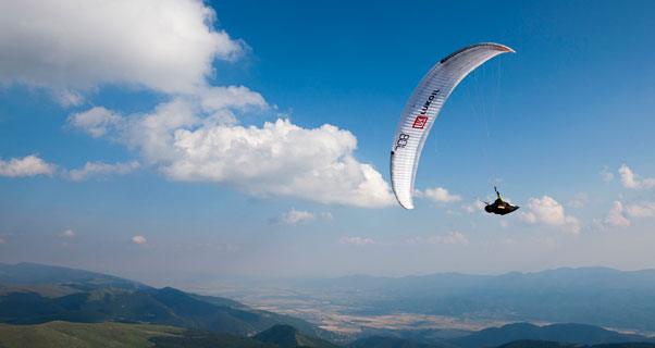 Paragliding World Championships 2013, Sopot. Photo: Martin Scheel