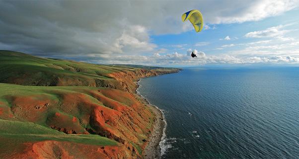 Coastal soaring in South Australia. Photo: Kym Fielke