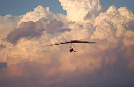 Hang Glider Cumulus Nimbus