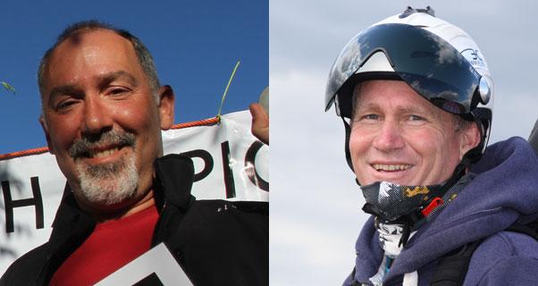 Adrian Thomas, left, and Bruce Goldsmith. Photos: Marcus King and T Goldsmith