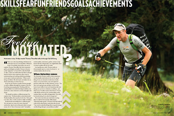 Feeling Motivated? ... From Cross Country 151, Jan/Feb 2014