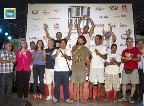 The PWC Superfinal 2013 Podium