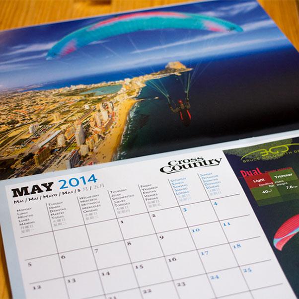 Cross Country Calendar 2014