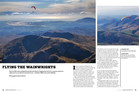 Flying the Wainwrights