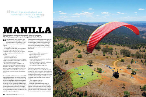 Want to fly 100km? Manilla is the place