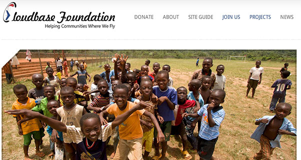 The Cloudbase Foundation website