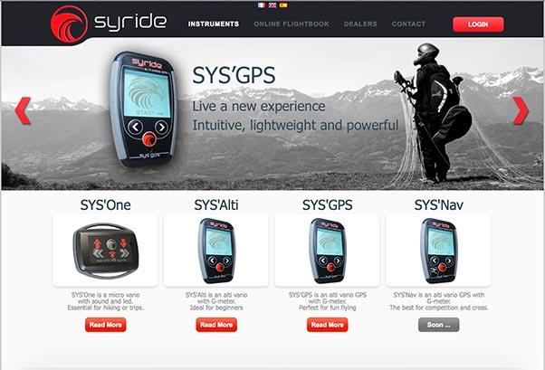 Syride Website