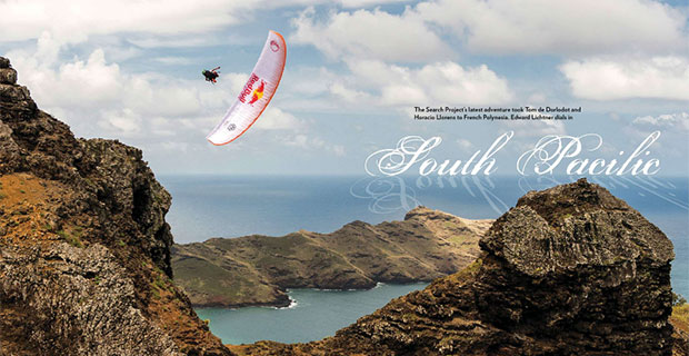 Paragliding in the South Pacific with Tom de Dorlodot and Horacio Llorens