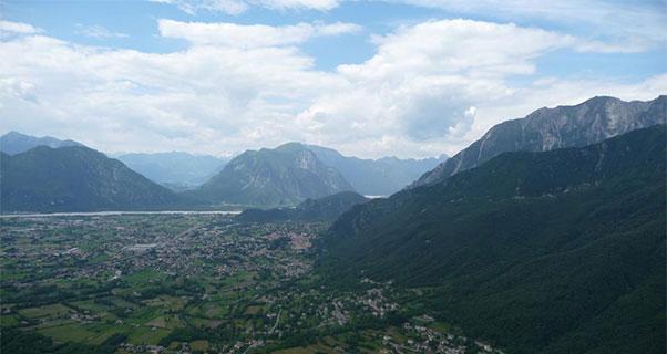 Gemona, in beautiful Italy. Photo: Tim Pentreath