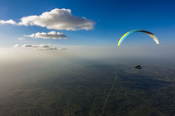 Big sky in Texas during the Ozone record encampment. Photo: Nick Greece