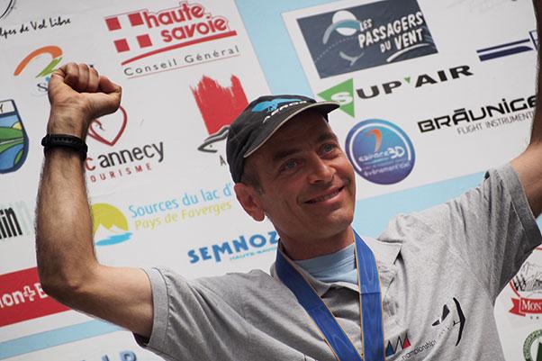 Sports Class winner Mario Alonzi. Photograph: Richard Sheppard