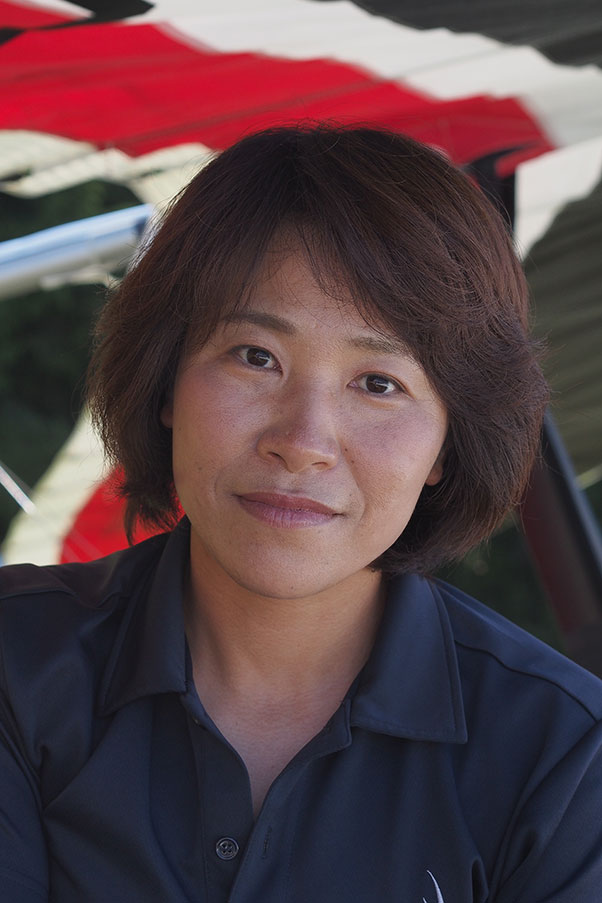 Yoko Isomoto, Women's Class winner. Photo: Richard Sheppard