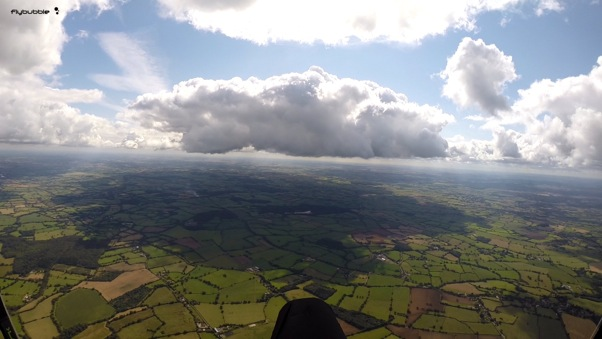 Cloud of doom ... several went for this and went down. Photo: FlyBubble Paragliding