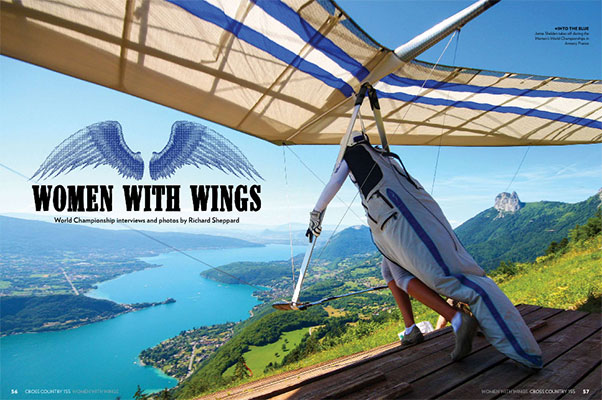 Women with Wings at the Women's Hang Gliding World Championships in Annecy