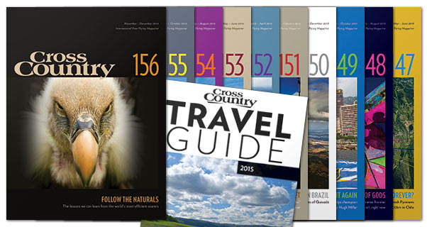 Subscribe to Cross Country and get 10 issues a year plus a free Travel Guide