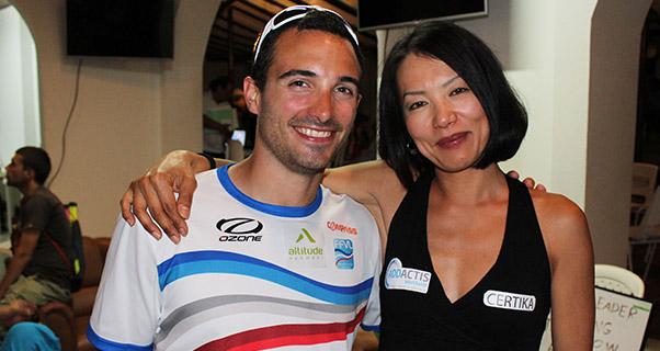 Honorin Hamard and Seiko Fukuoka. Photo: Ed Ewing