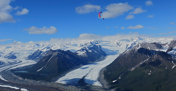 The big sky of Alaska. Photo: Mitch Riley