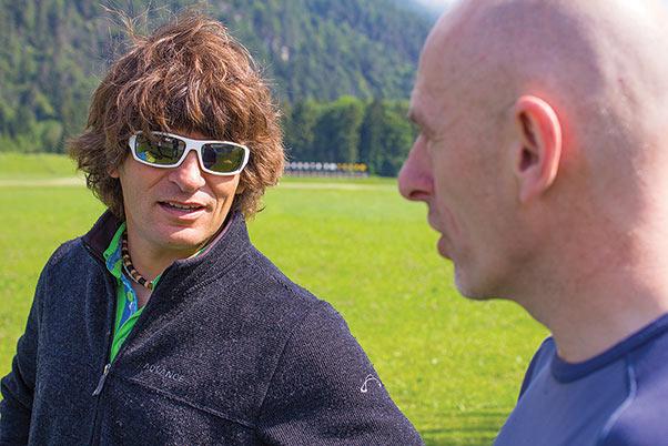 Pat talks to Kari Eisenhut