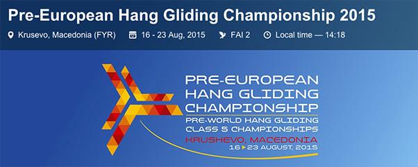 Pre-European HG Championships 2015