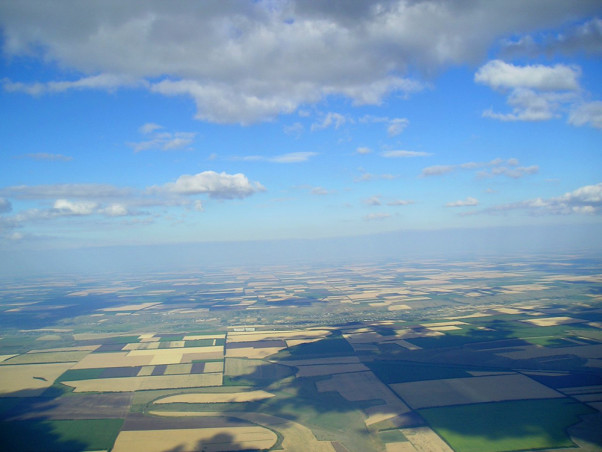The Ukraine countryside – en route for 437km