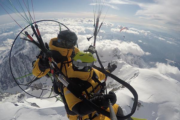 Green Twins Mont Blanc record