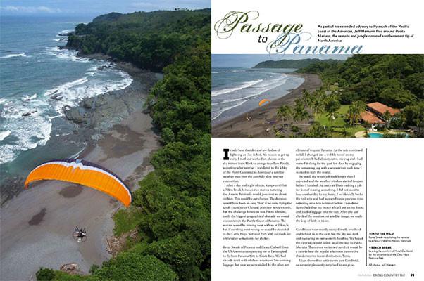 Paramotoring-Panama