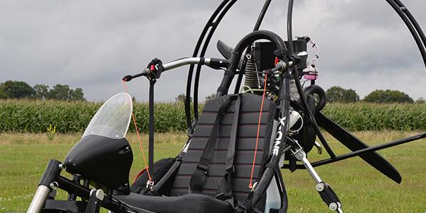 Airfer upgrade Mustang tandem paratrike   Cross Country