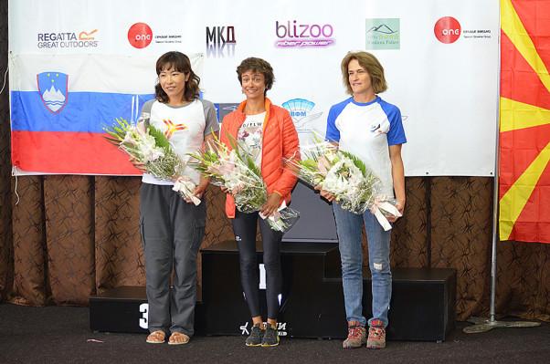 HG Pre Europeans 2015 womens' podium