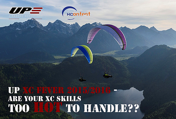 XC Fever 2015/2016: win a UP paraglider | Cross Country Magazine